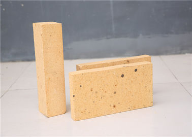 Light Yellow Appearance Fireplace Refractory Brick High Alumina Content For Metallurgy
